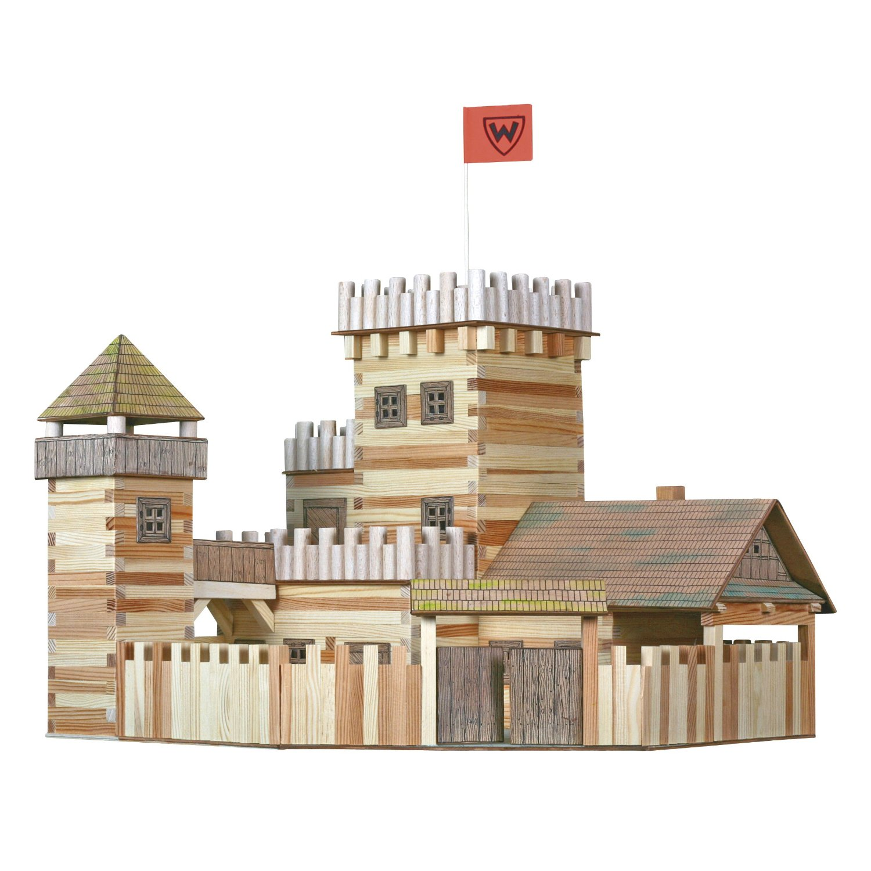 Схема деревянного замка